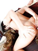 Ladyboy teabagging and dirty bareback with slut Balloon
