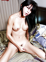 Ladyboy Amy is an asian bombshell from Phucket. She\'s a shemale with the incredible ability of make her she-pussy pulsate even before a cock is inside of her.